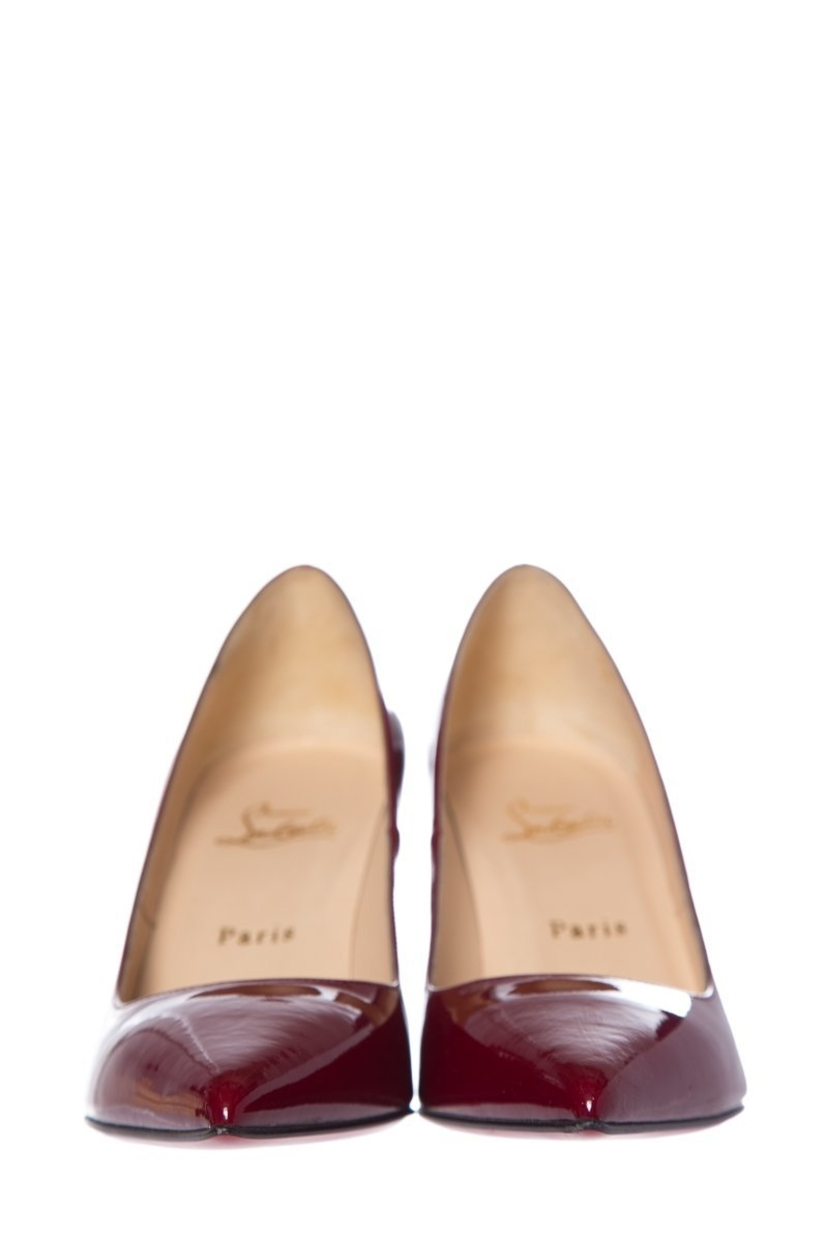 Christian Louboutin Christian Louboutin Red Patent Leather Pumps SZ 39 Shoes