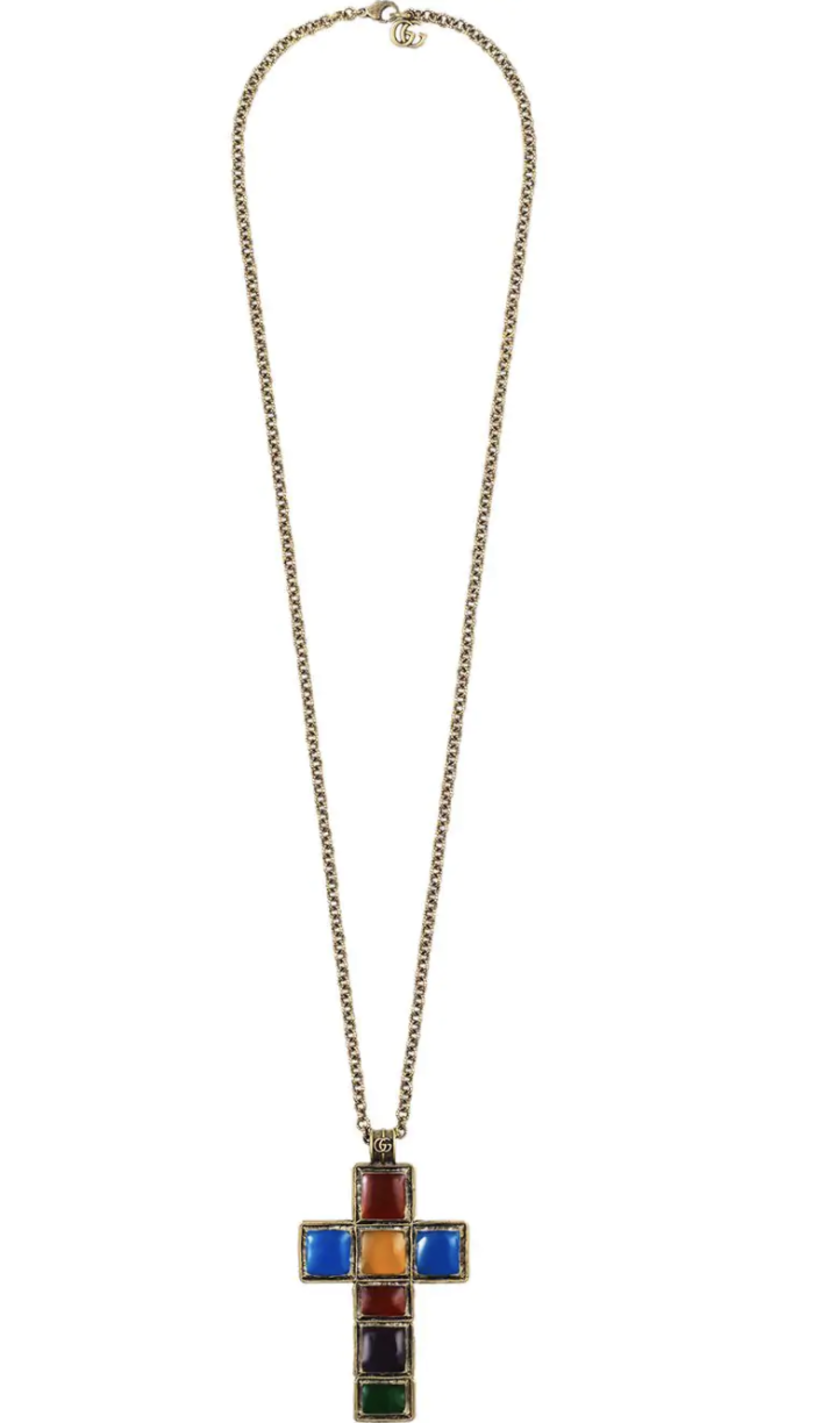 Gucci Cross Necklace Jewelry