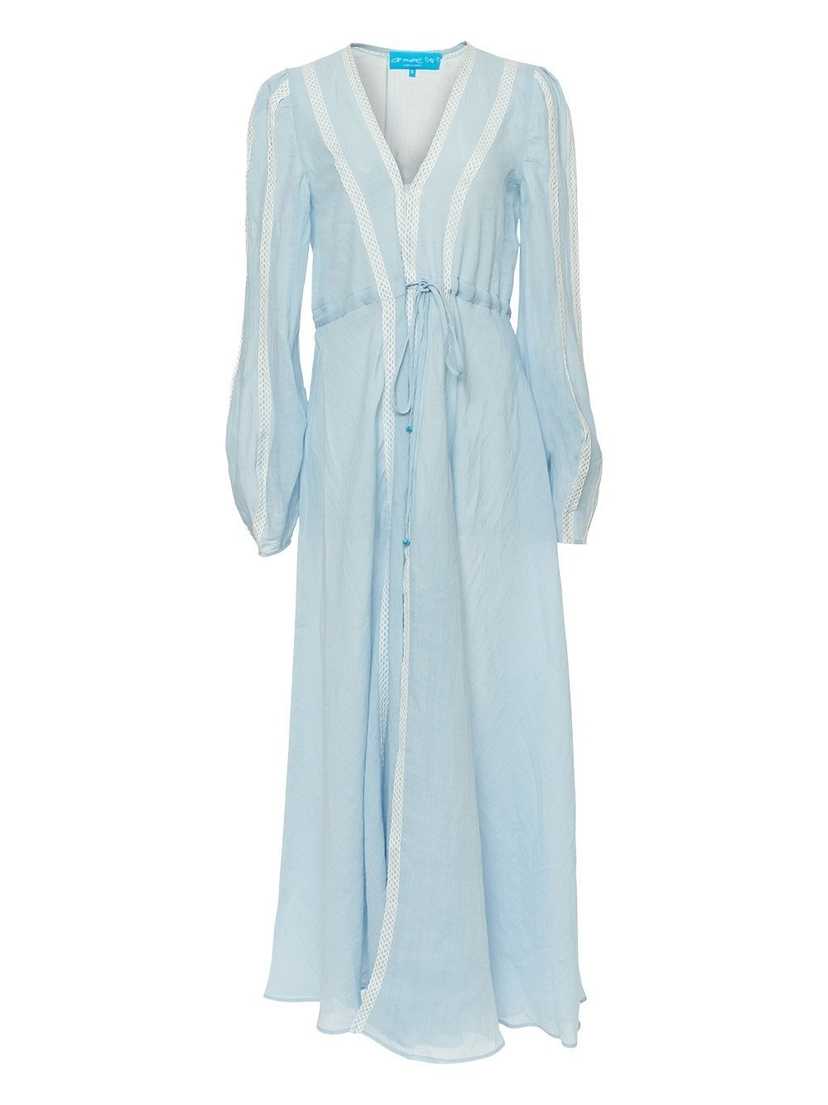 A Mere Co. Victoria Long Sleeve Maxi Cover Up Dresses Sale