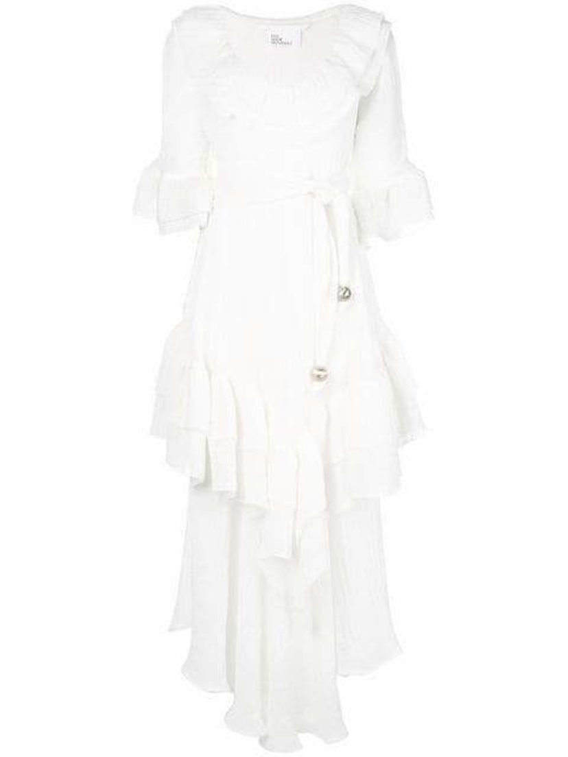 Lisa Marie Fernandez Laura Ruffle Dress Dresses Sale