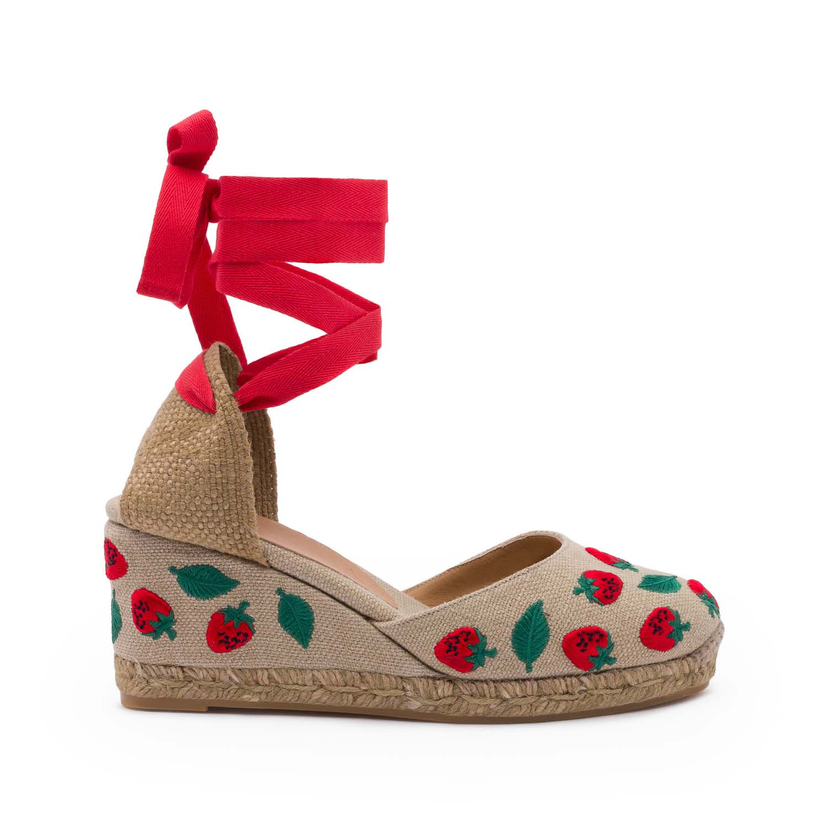 Castañer Strawberry Espadrilles Shoes