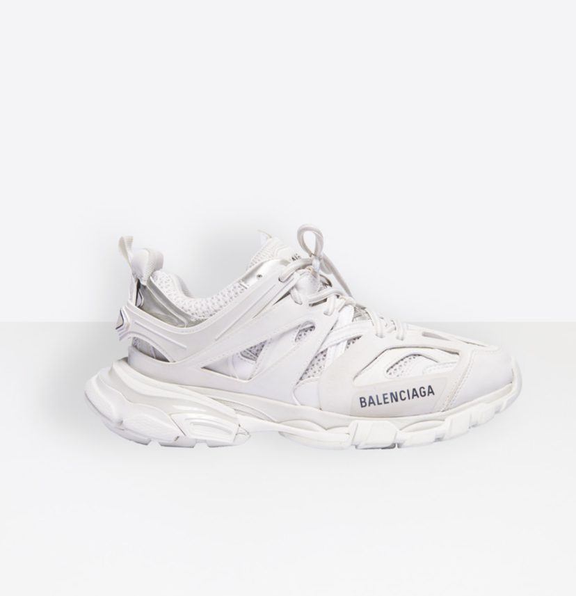 Balenciaga Balenciaga Track Trainers White Mesh & Nylon Shoes