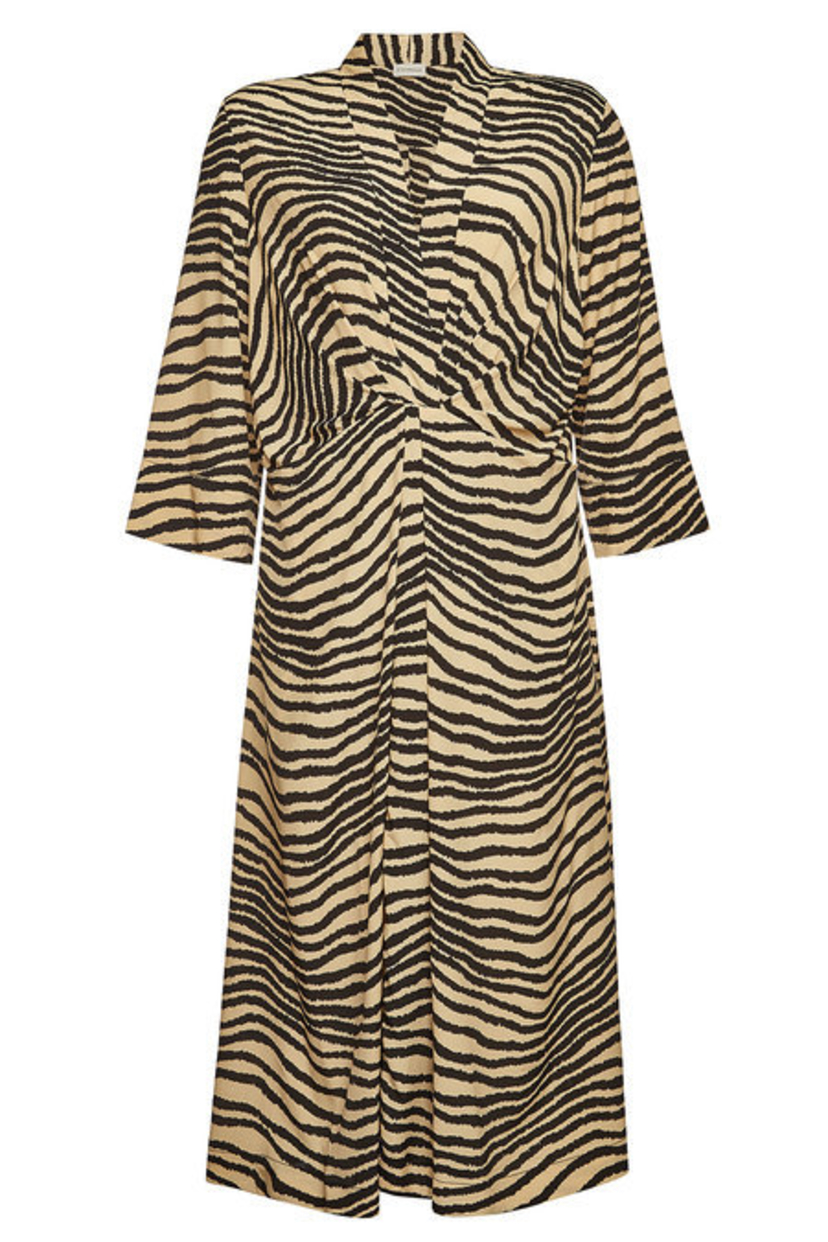 By Malene Birger Keelia Dress - Zebra Print Dresses
