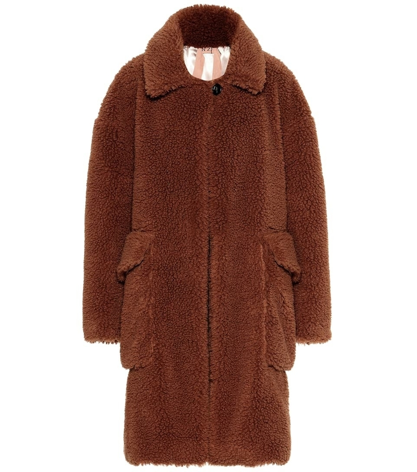 N°21 Teddy Coat Outerwear