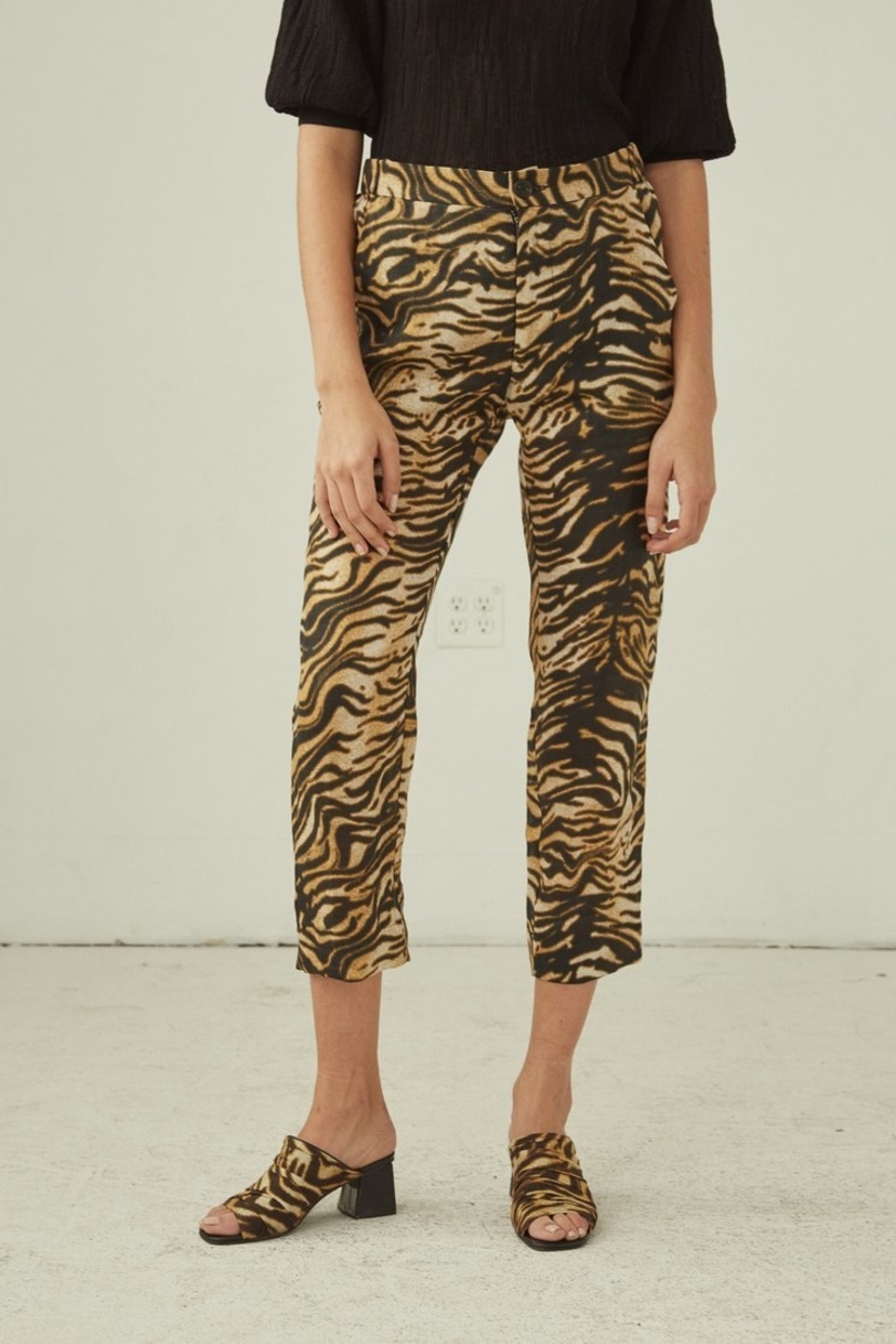 Rachel Comey Council Pant - Tiger Print Pants