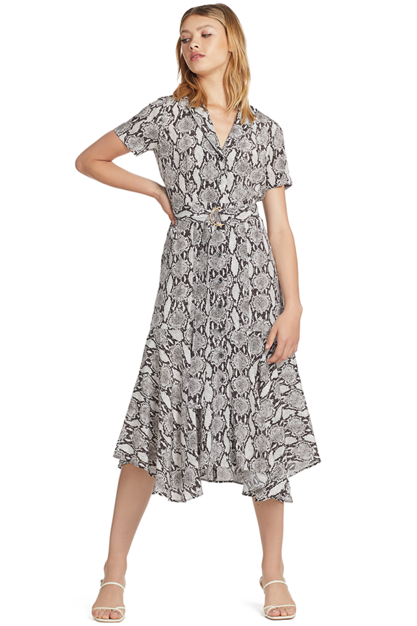 A.L.C. Clarkson Dress (Snake Print) Dresses