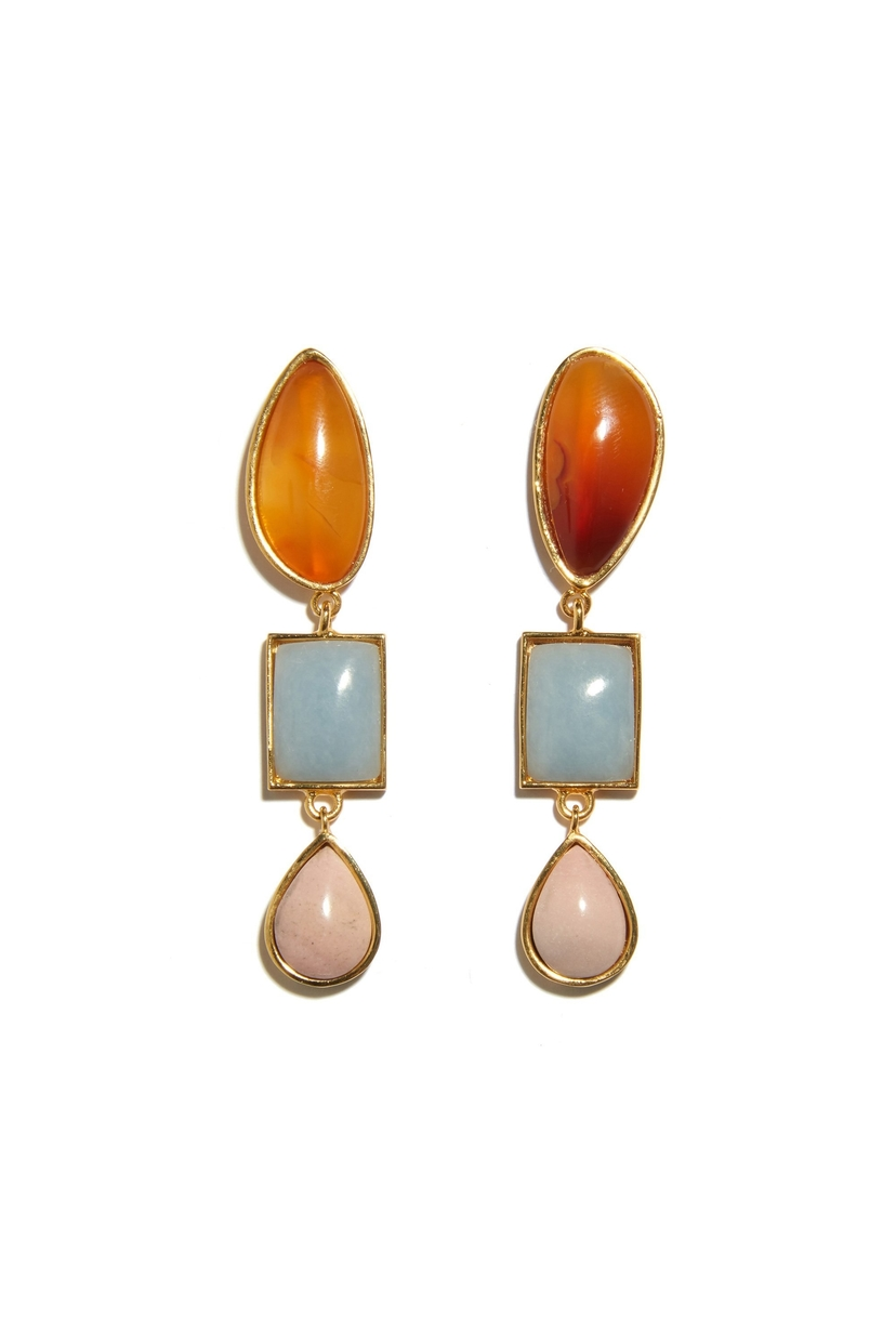 Lizzie Fortunato Color Scape Earrings Jewelry