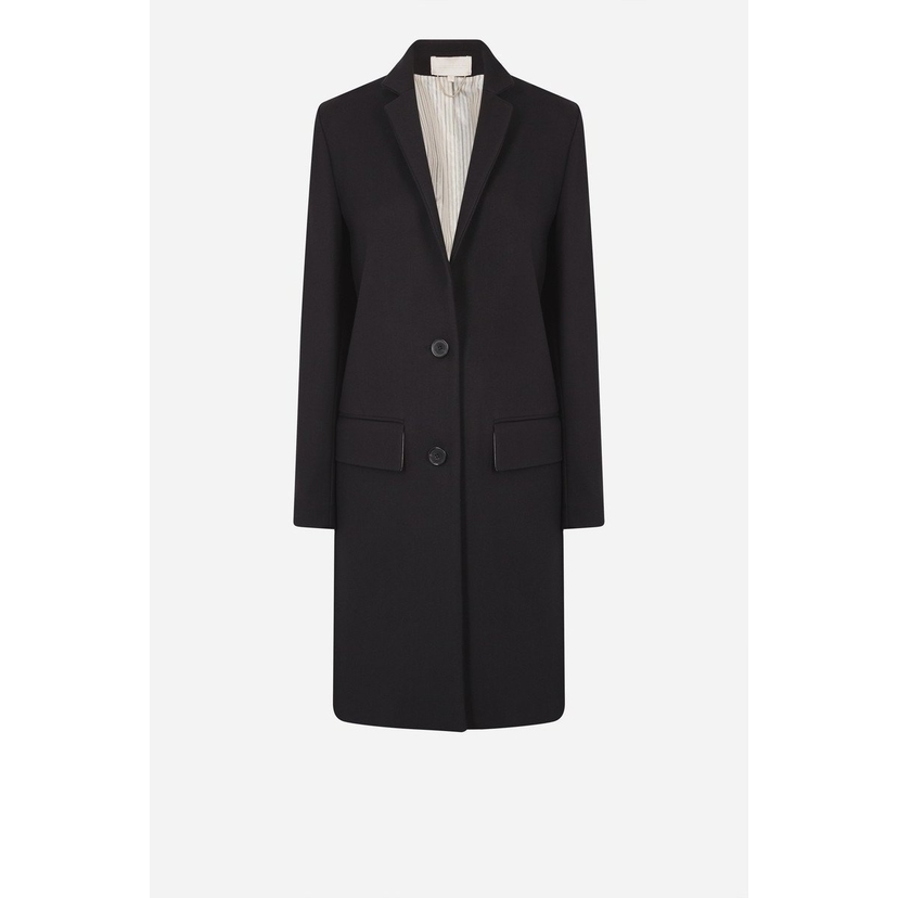 Vanessa Bruno Cotton and Wool Twill Henzo Coat Outerwear