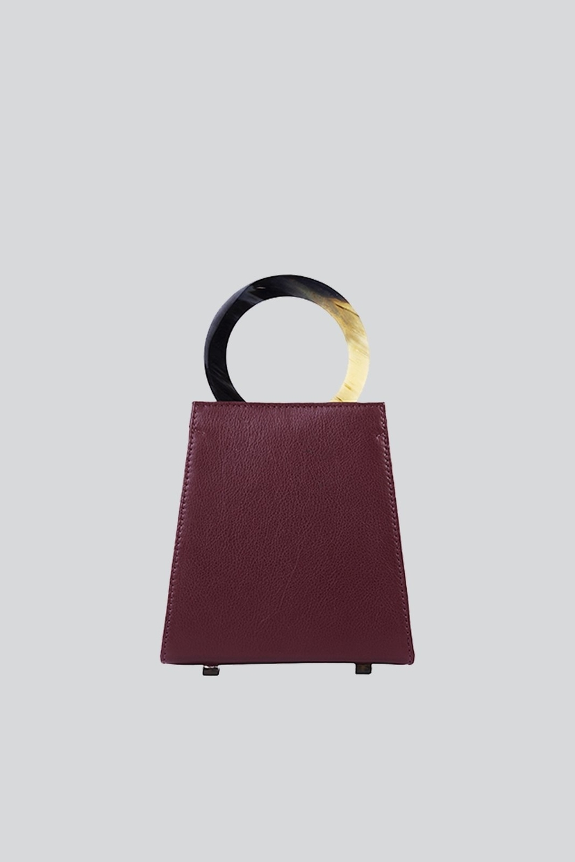 Adriana Castro Azza Mini Bag Burgundy Bags
