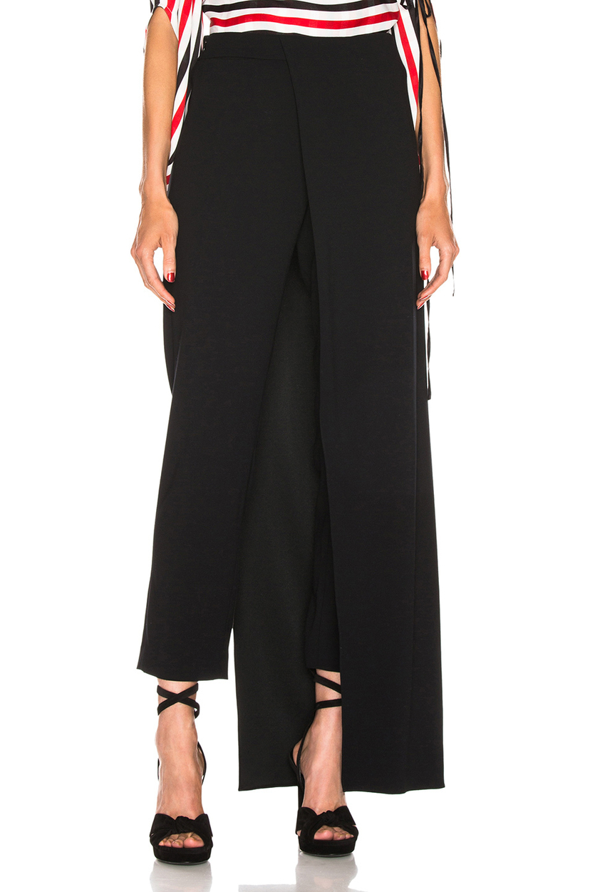 Hellessy Eclipse Satin Crepe Trouser