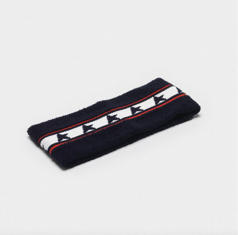 Golden Goose Deluxe Brand Golden Goose Headband Noa Navy Star Accessories
