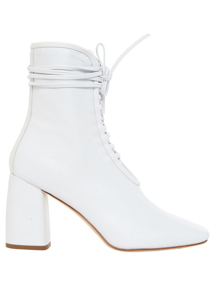 Daniella Shevel BellaDonna Lace Up Bootie Shoes