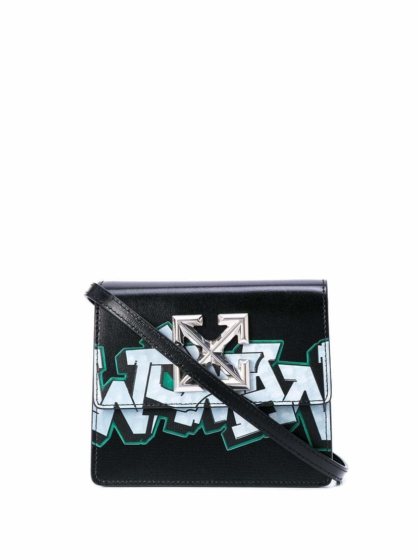 Off-White Jitney 0.7 Graffiti Mini Bag Bags Sale
