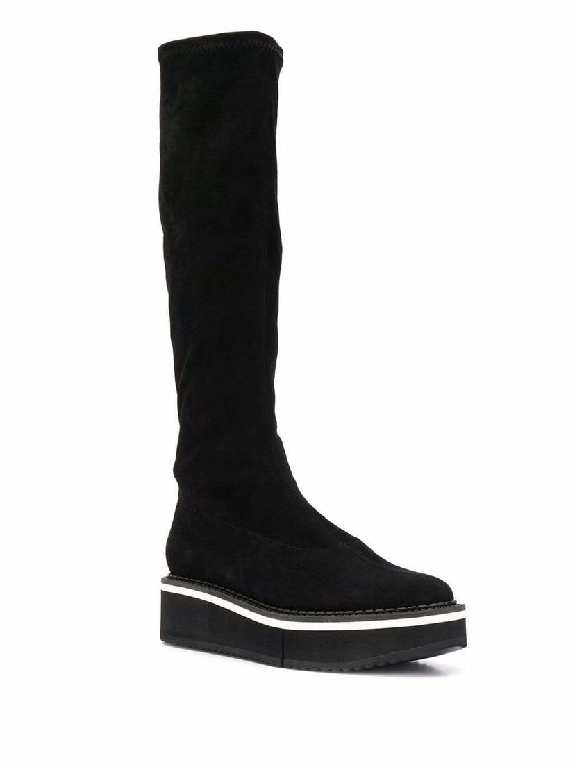 Robert Clergerie Platform knee high boots