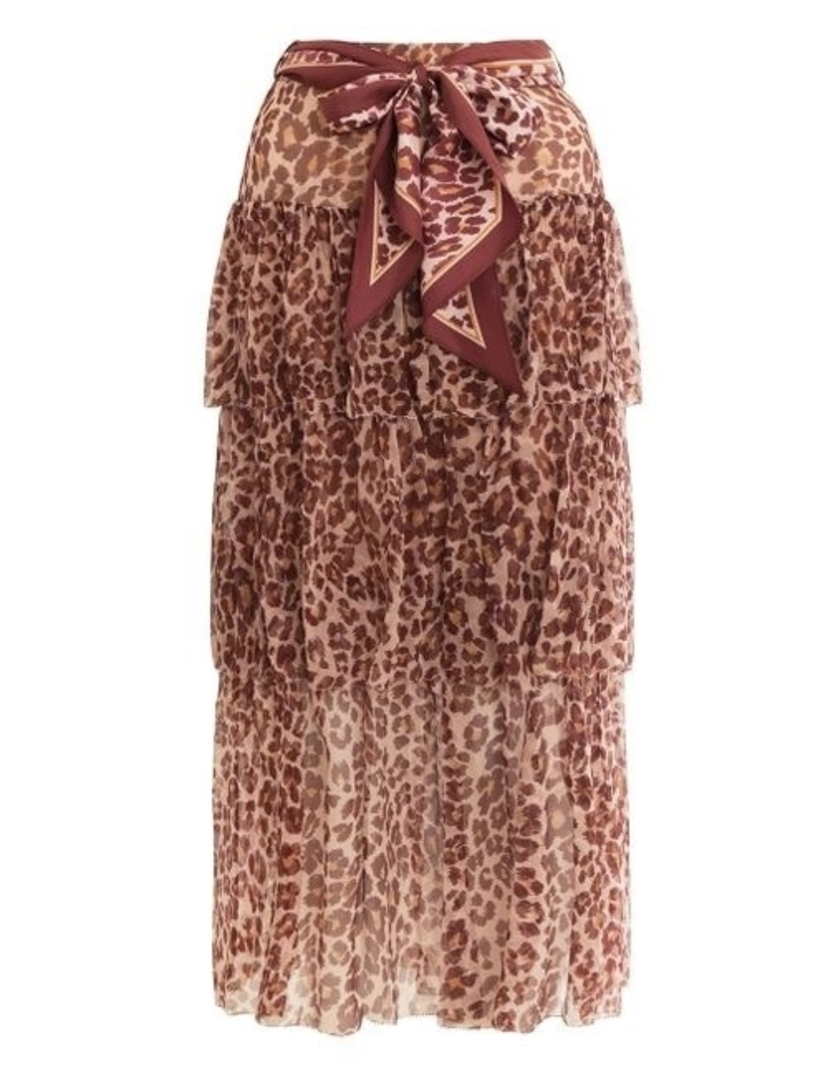 Zimmermann Resistance Tiered Skirt Skirts
