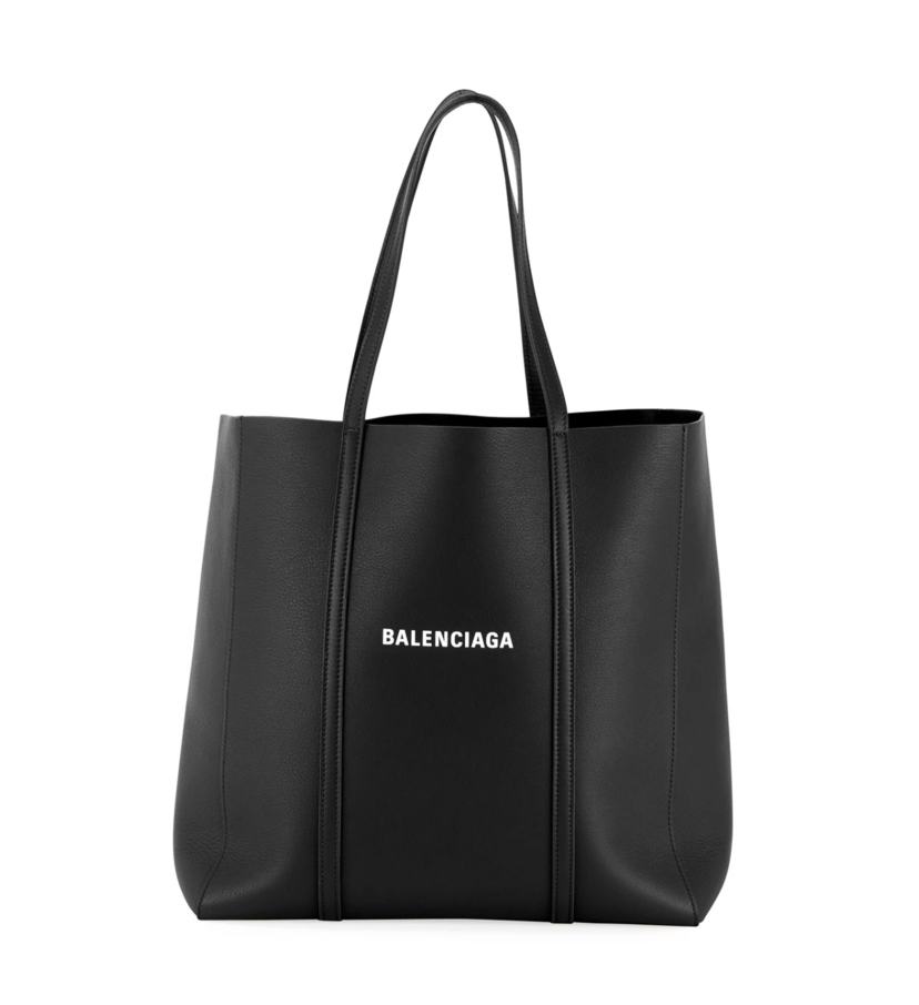 Balenciaga Everyday Tote Small Black/White Bags