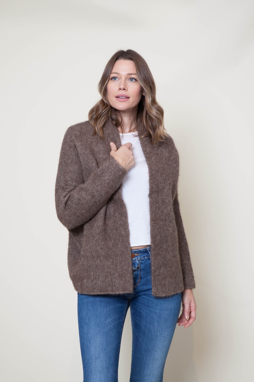Lauren Manoogian Block Cardigan - Morel or Bracken Tops