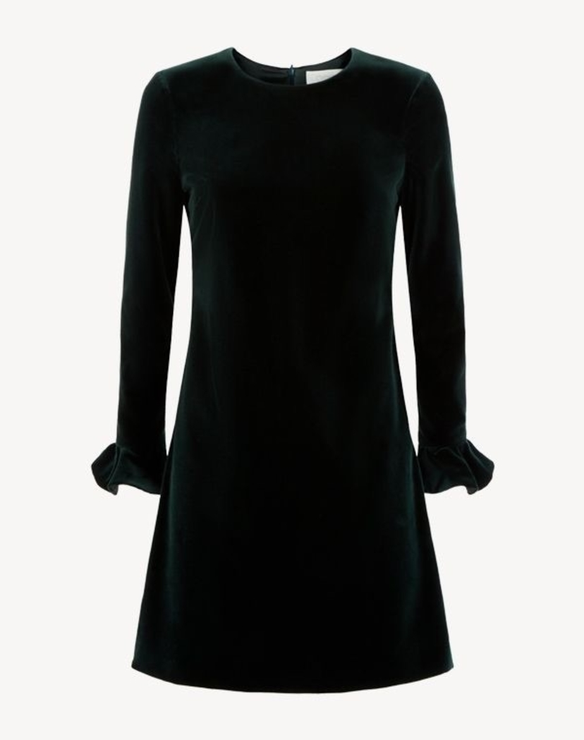 GOAT Isla Velvet Tunic Dress Dresses