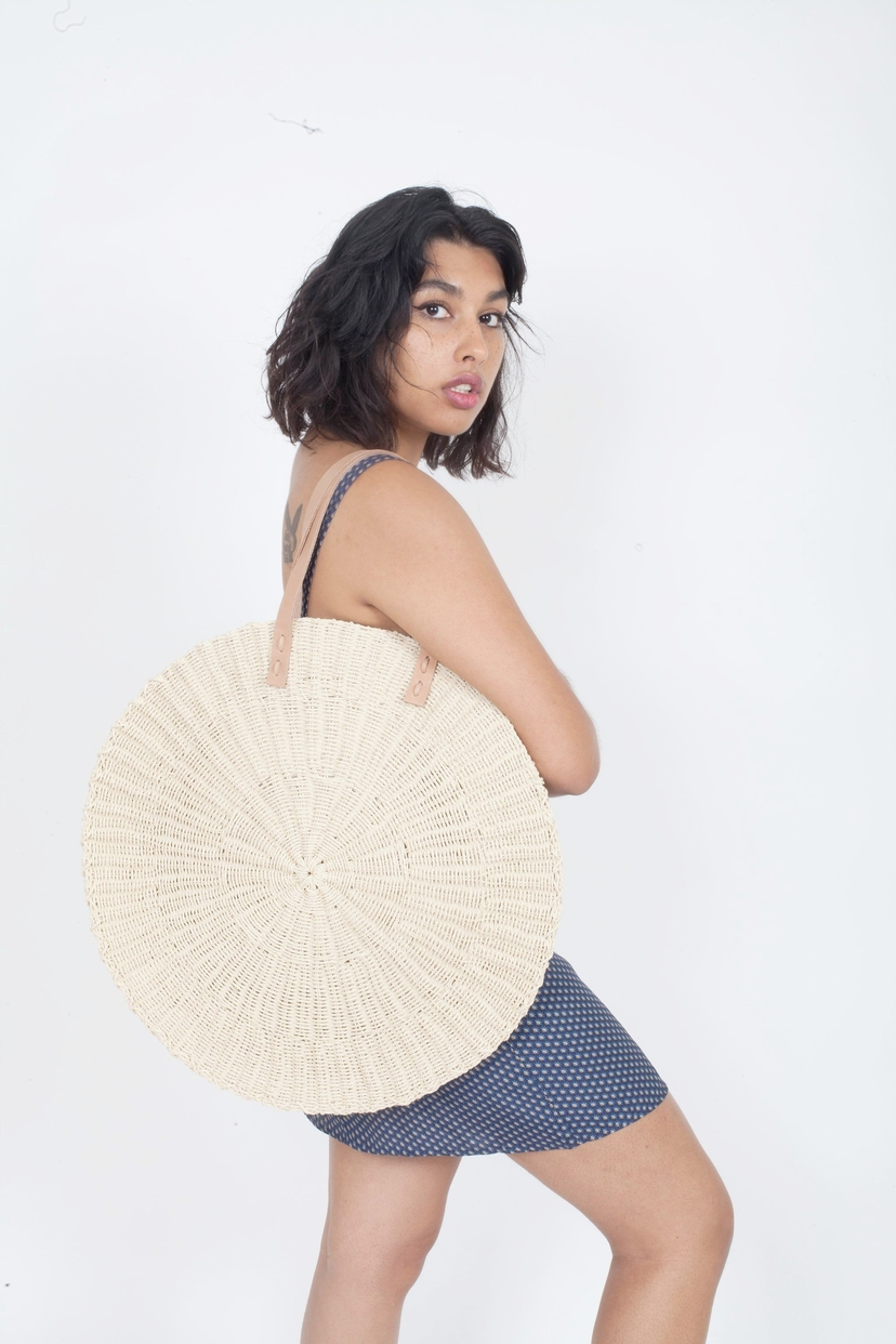 The Beach People THE BEACH PEOPLE | Scallop Oversized Bag