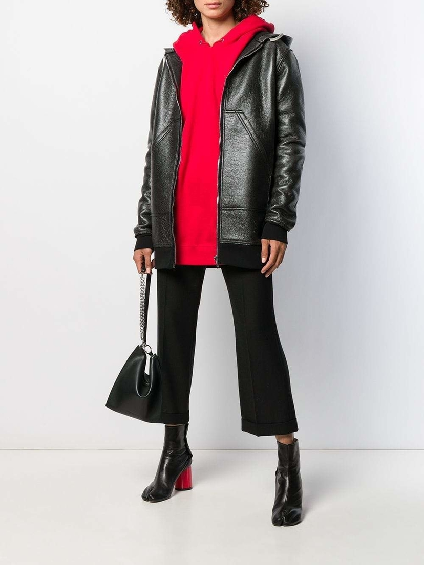 Rick Owens DRKSDW women Long Bomber Outerwear Sale