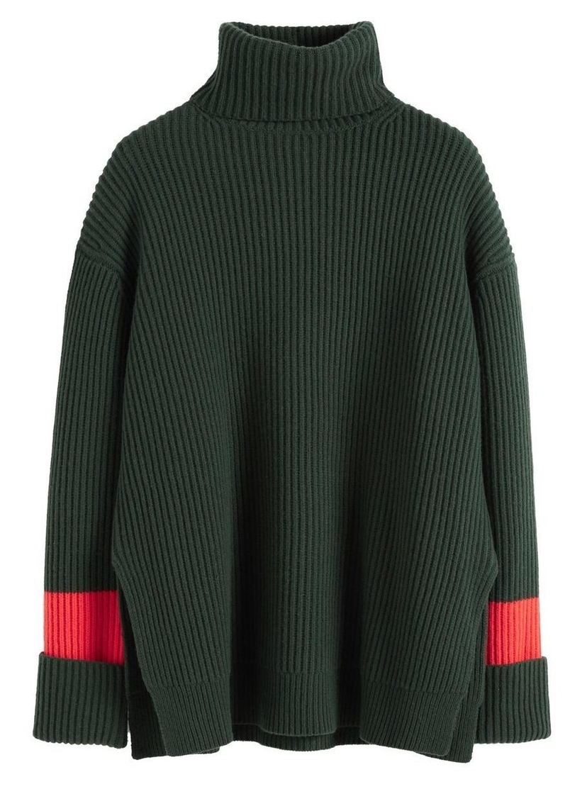 Chinti and Parker Oversized Rib Sweater Tops