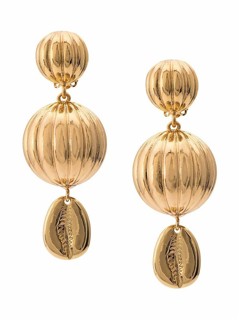 Rebecca De Ravenel Be Charmed Three Drop Earrings Jewelry Sale