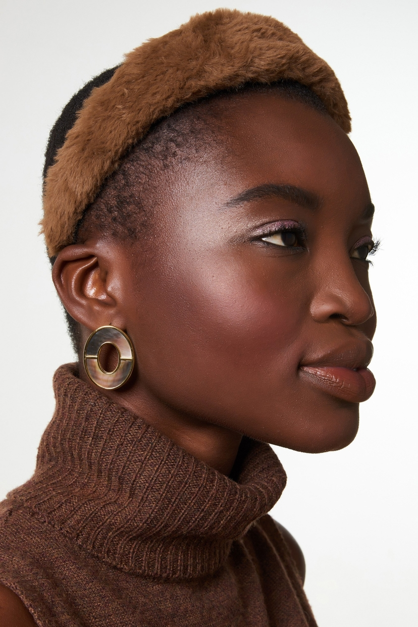 Lizzie Fortunato Symmetry Earrings In Iridescent Accessories