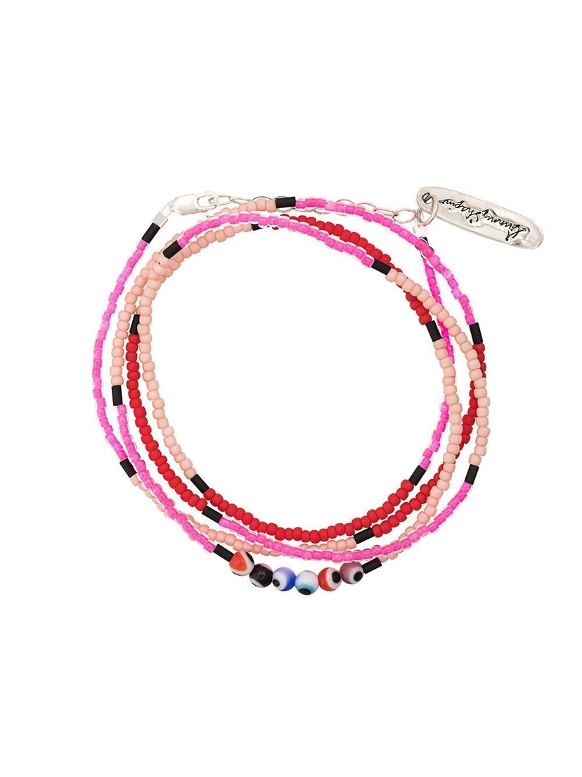 bunny shapiro Mini Evil Eye Wrap Bracelet Jewelry Sale