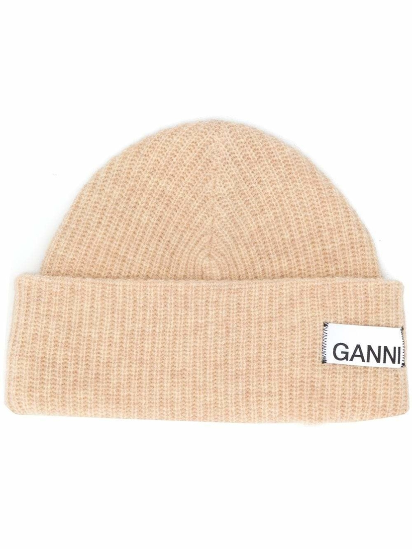 Ganni Knit Beanie Accessories