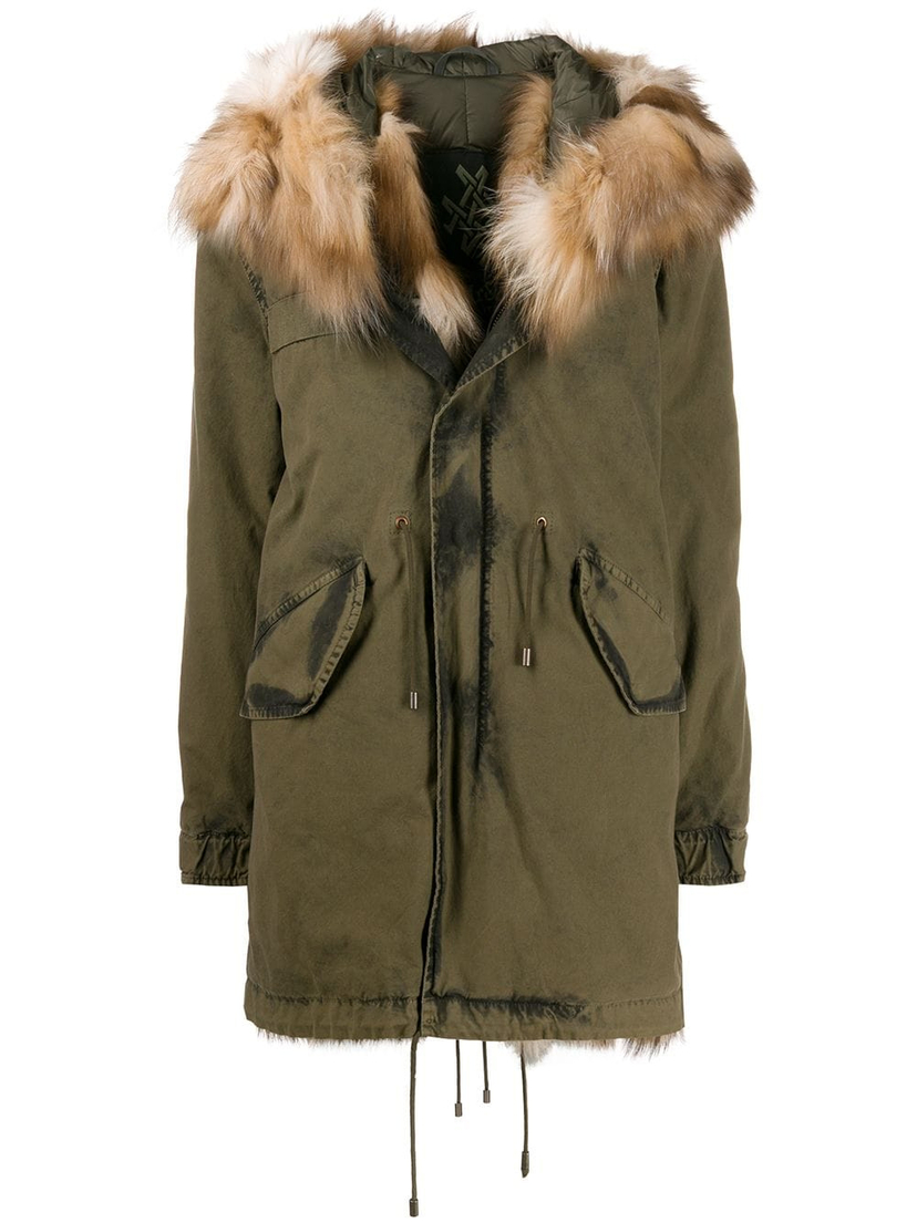 Mr and Mrs Italy Jazzy Midi Parka Coat Outerwear