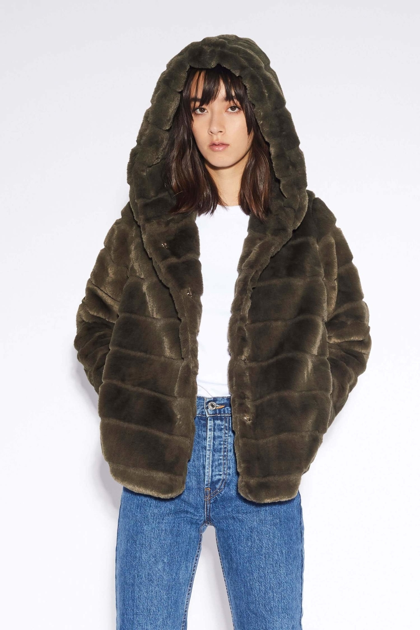 APPARIS Goldie Faux Fur Jacket Outerwear