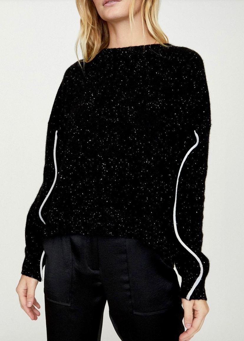 Mari Max The Luci Sweater - Black Tops