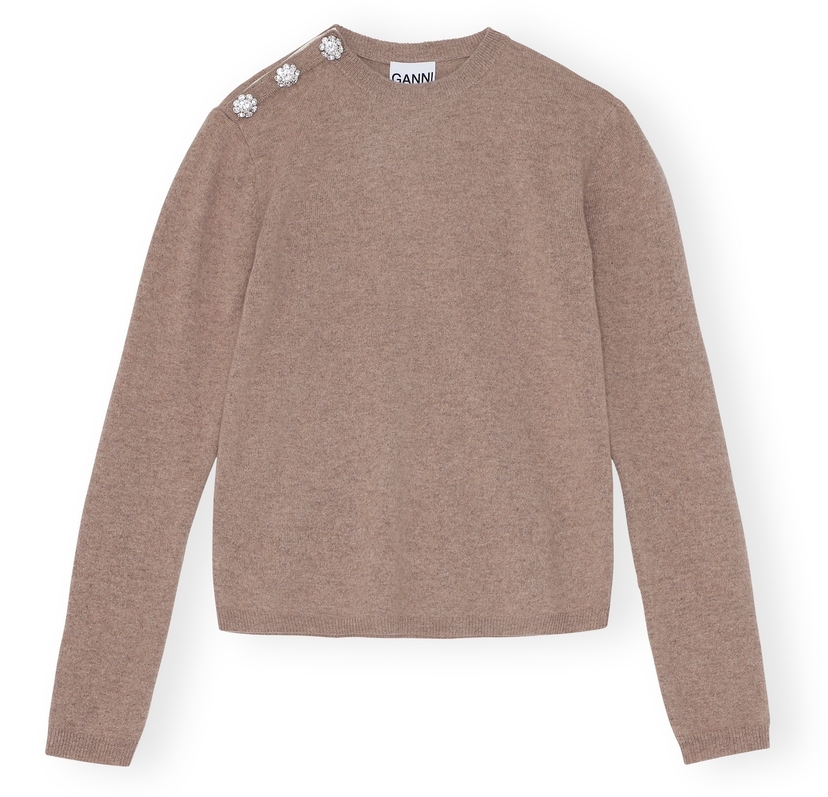 Ganni Cashmere Knit Sweater Tops