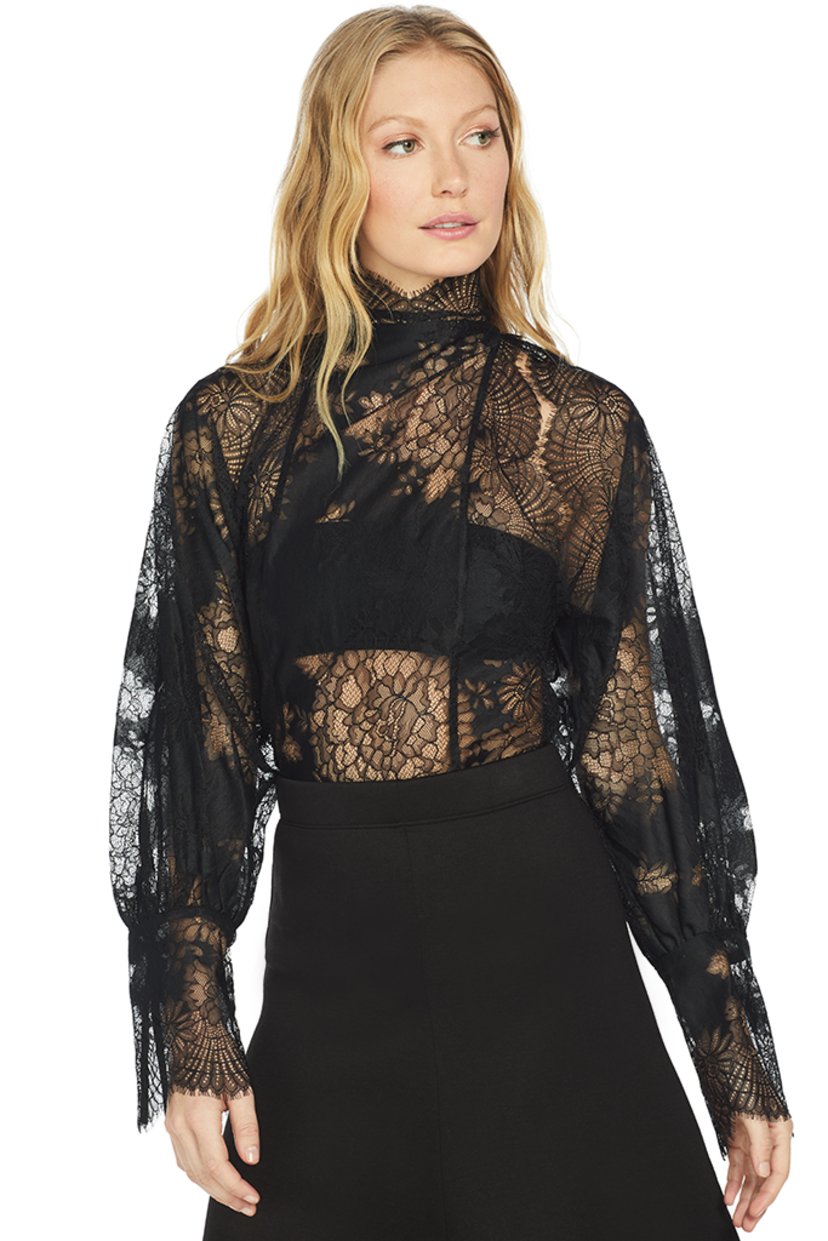 Beaufille Levine Blouse (Black) Sale Tops
