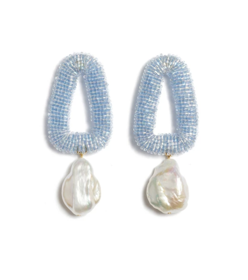 Lizzie Fortunato Lizzie Fortunato Blue Oasis Earrings Accessories