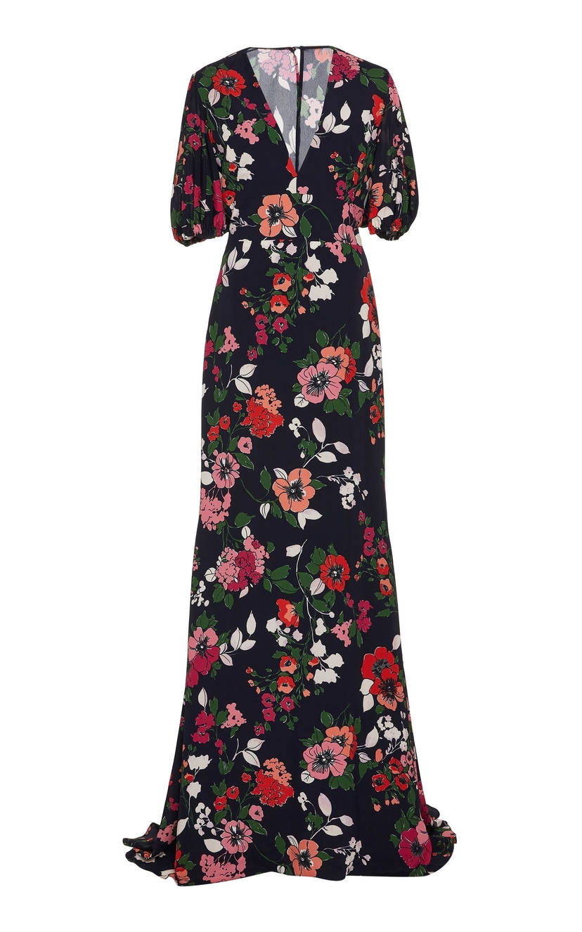 Lela Rose Lela Rose V-Neck Gown Dresses