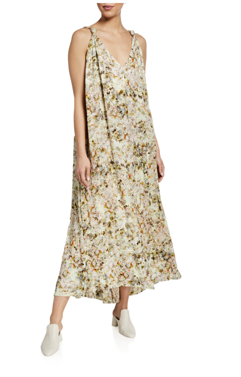 Co Floral Jacquard Pullover Dress Dresses Sale