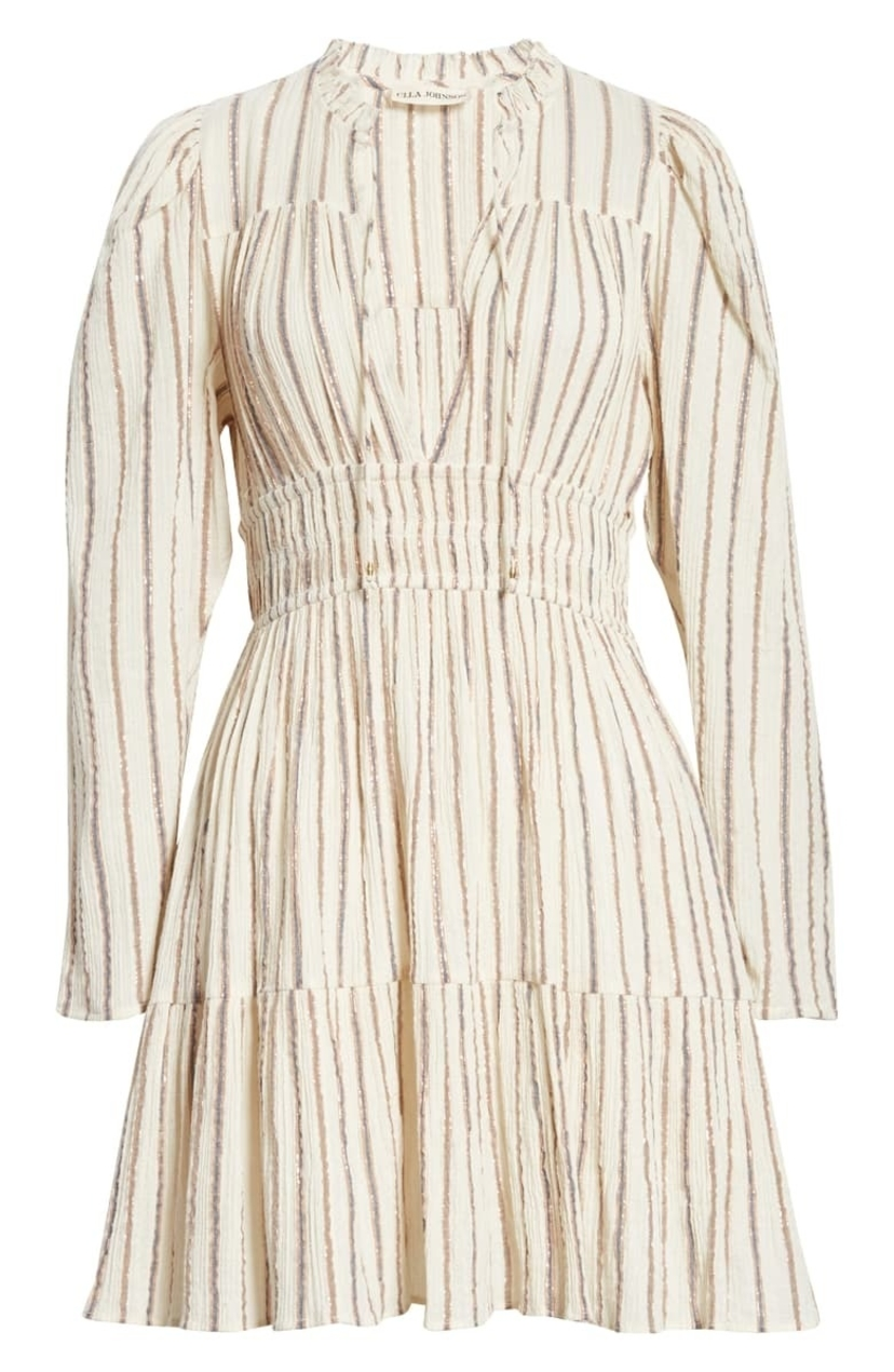 Ulla Johnson Rosalind Dress - Cream Dresses Sale