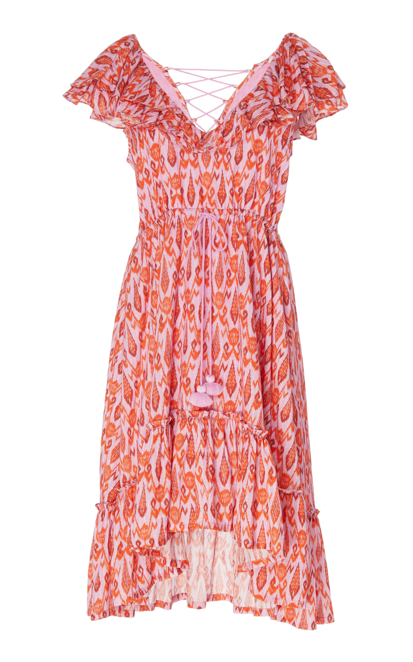 Figue Tahlia Dress - Toledo Ikat Pink Dresses Sale