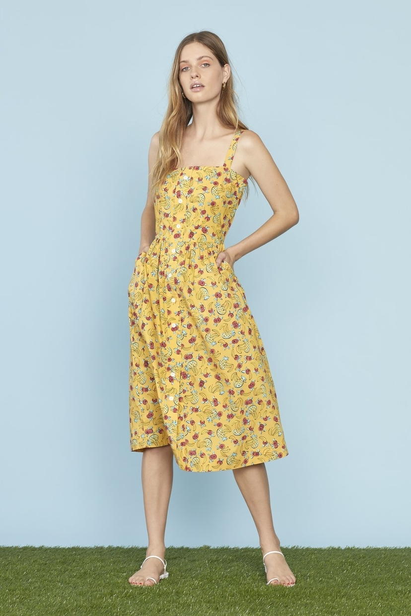 HVN Laura Cotton Dress Dresses
