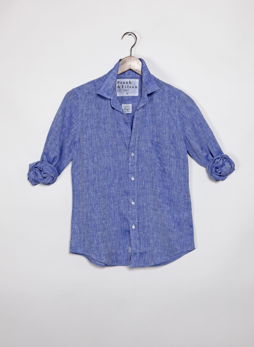Frank & Eileen Barry Button Down - Linen (More Colors) Tops