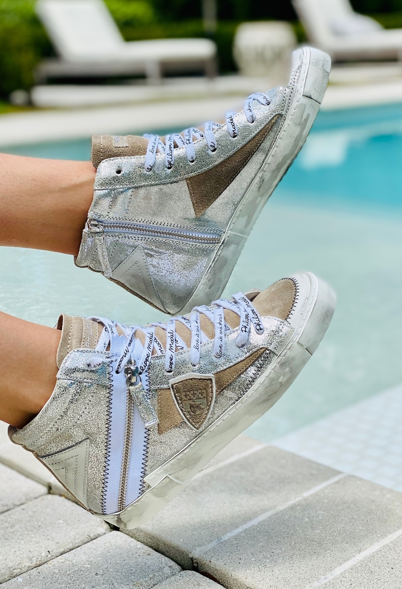 High tops - Mixed Metal Shoes