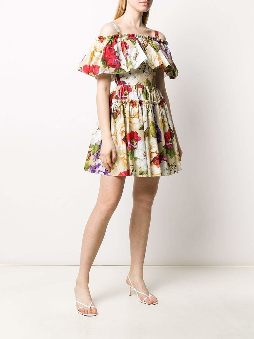 Dolce & Gabbana Floral Print Mini Dress Dresses Sale