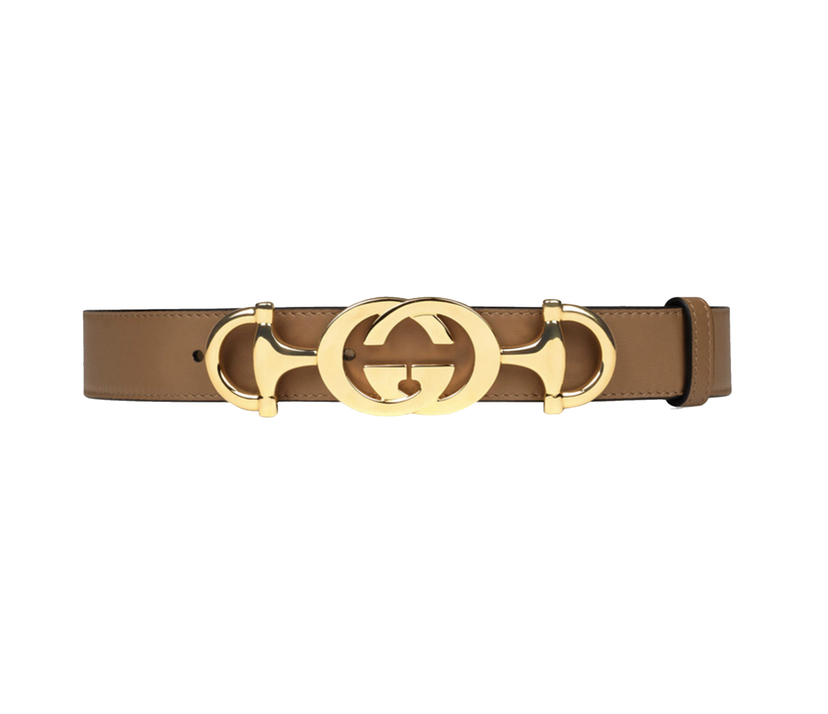 Gucci GG Leather Waist Belt Accessories