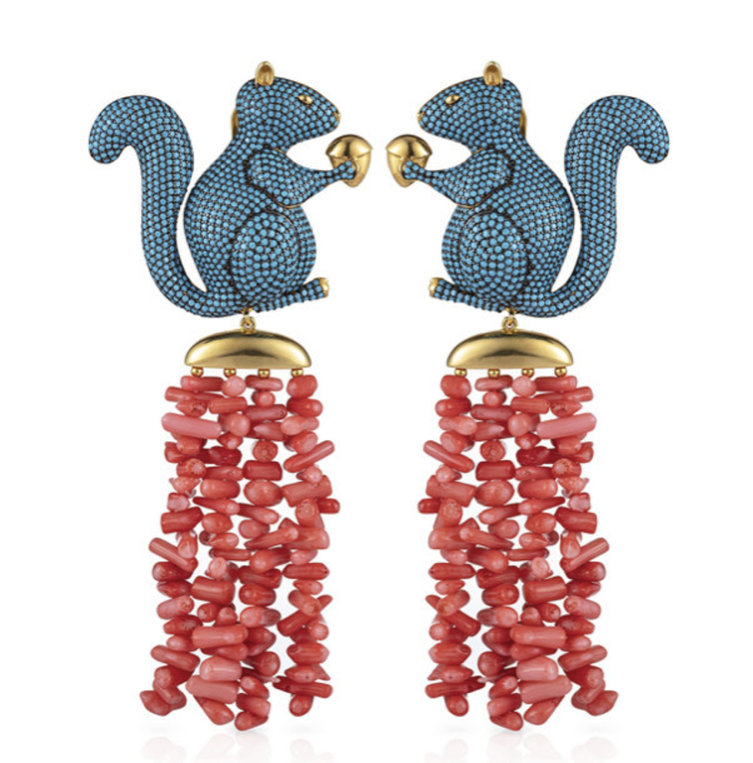 Begum Khan BUBU AMALFI EARRINGS Jewelry