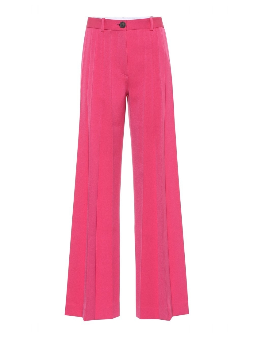 Peter Do Flare Front Pleat Pant in Fuchsia Pants Sale