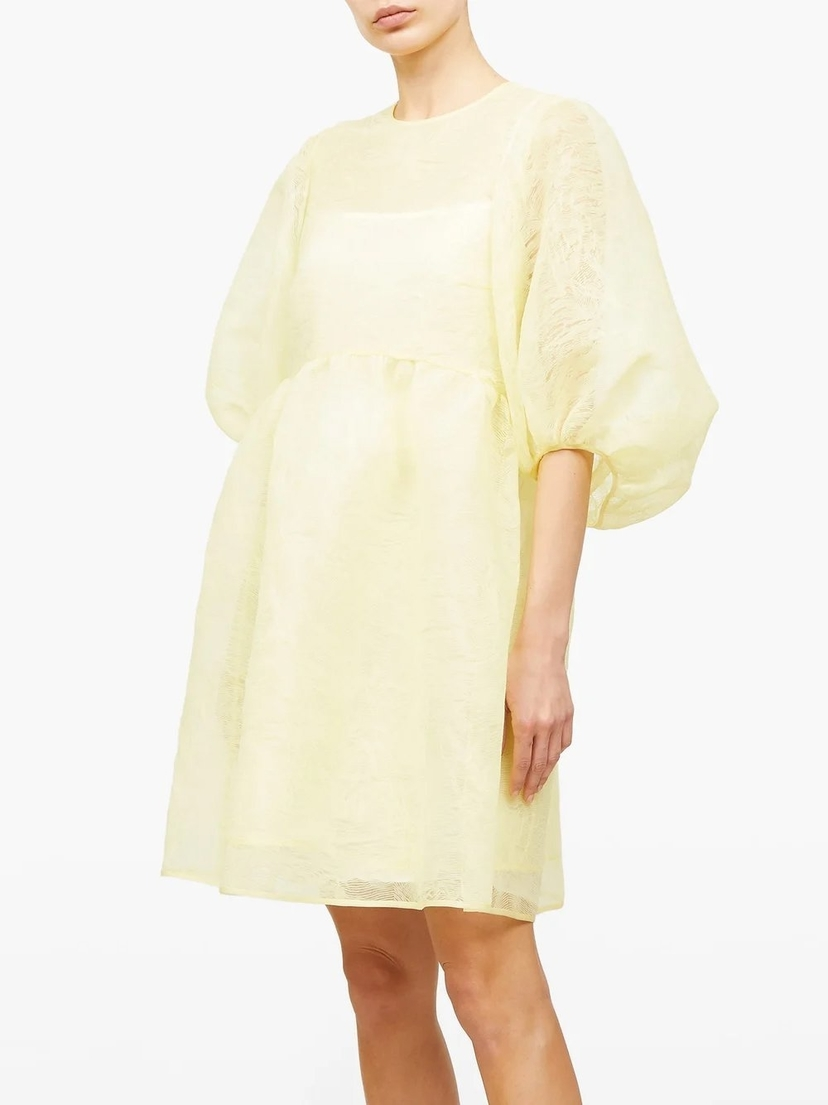 Cecilie Bahnsen Mabel Dress with Puff Sleeves Dresses Sale