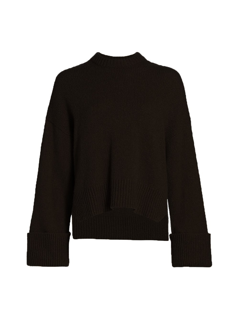 FRAME Leon Cuff Sleeve Sweater Tops