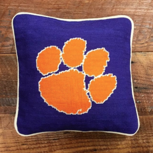 Smathers & Branson Grab our last Clemson needlepoint pillow & cheer on your tigers! Home decor Lifestyle