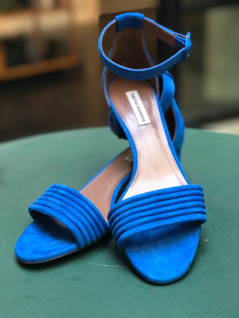 Tabitha Simmons Hue of blue  Shoes